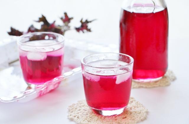 赤 紫蘇 ジュース の 作り方
